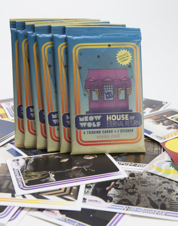 Trading Cards - Pack of 6 Cards