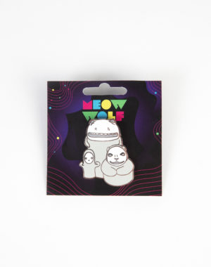 Meow Wolf - Lowing Lowlies Pin