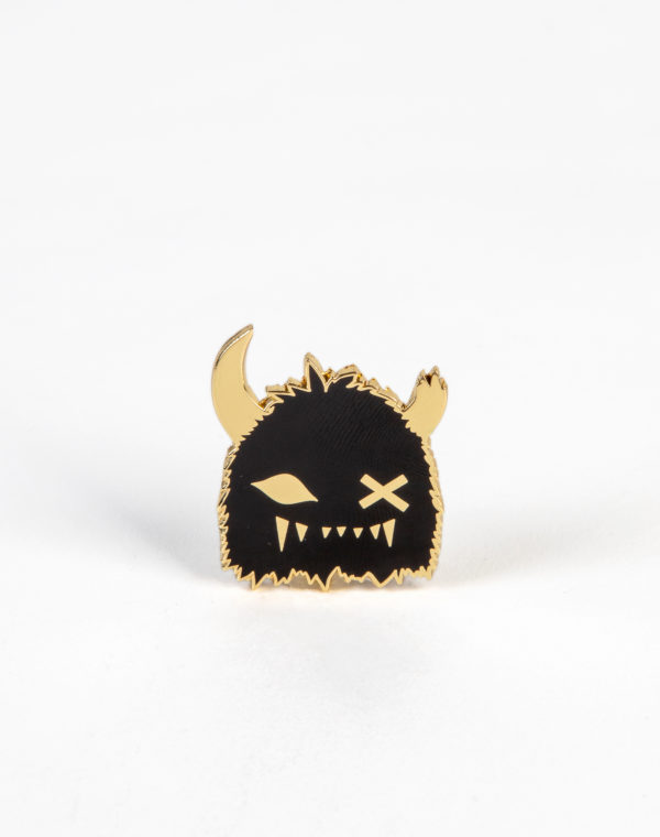 Meow Wolf - Black Gold Snaggy Pin