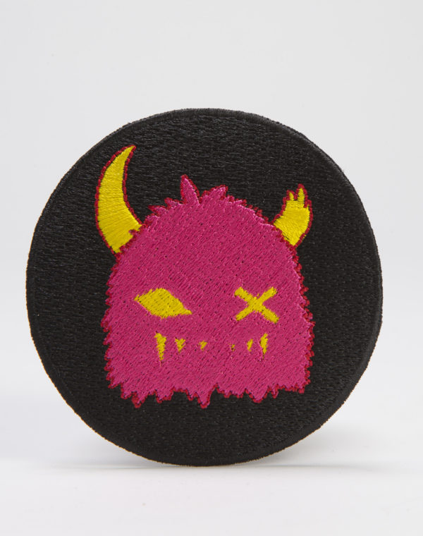 Pink Snaggy Patch