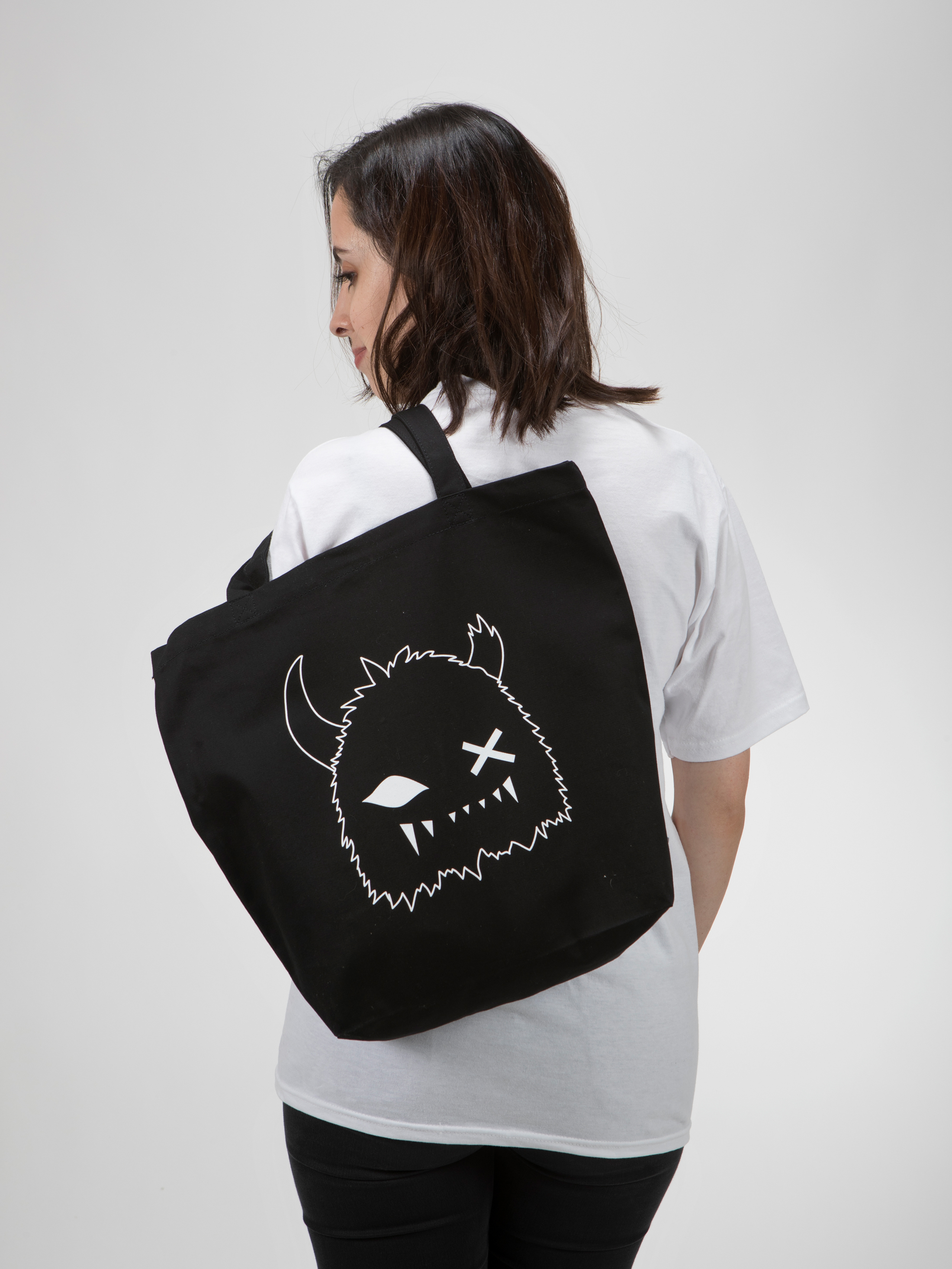 Meow Wolf Logo Snaggy Tote Bag