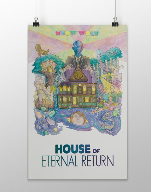 House of Eternal Return Print