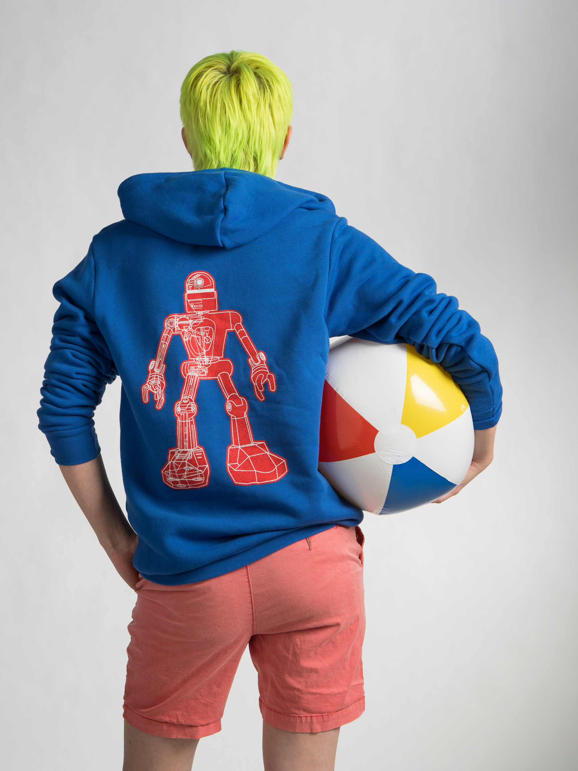 Meow Wolf Robot Hoodie