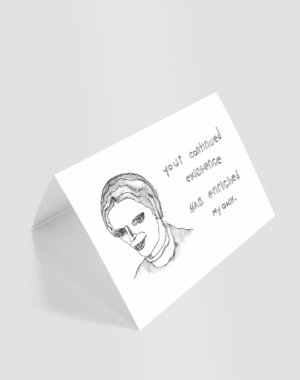 Continued Existence Greeting Card