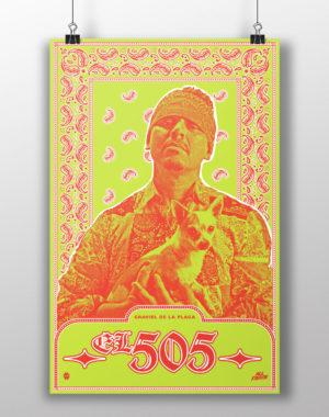 """""""Graviel de la Plaga El 505"""" All Fierce Poster"""