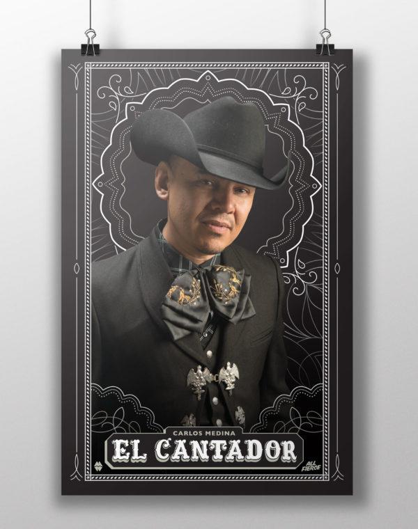 """""""El Cantador"""" All Fierce Poster"""