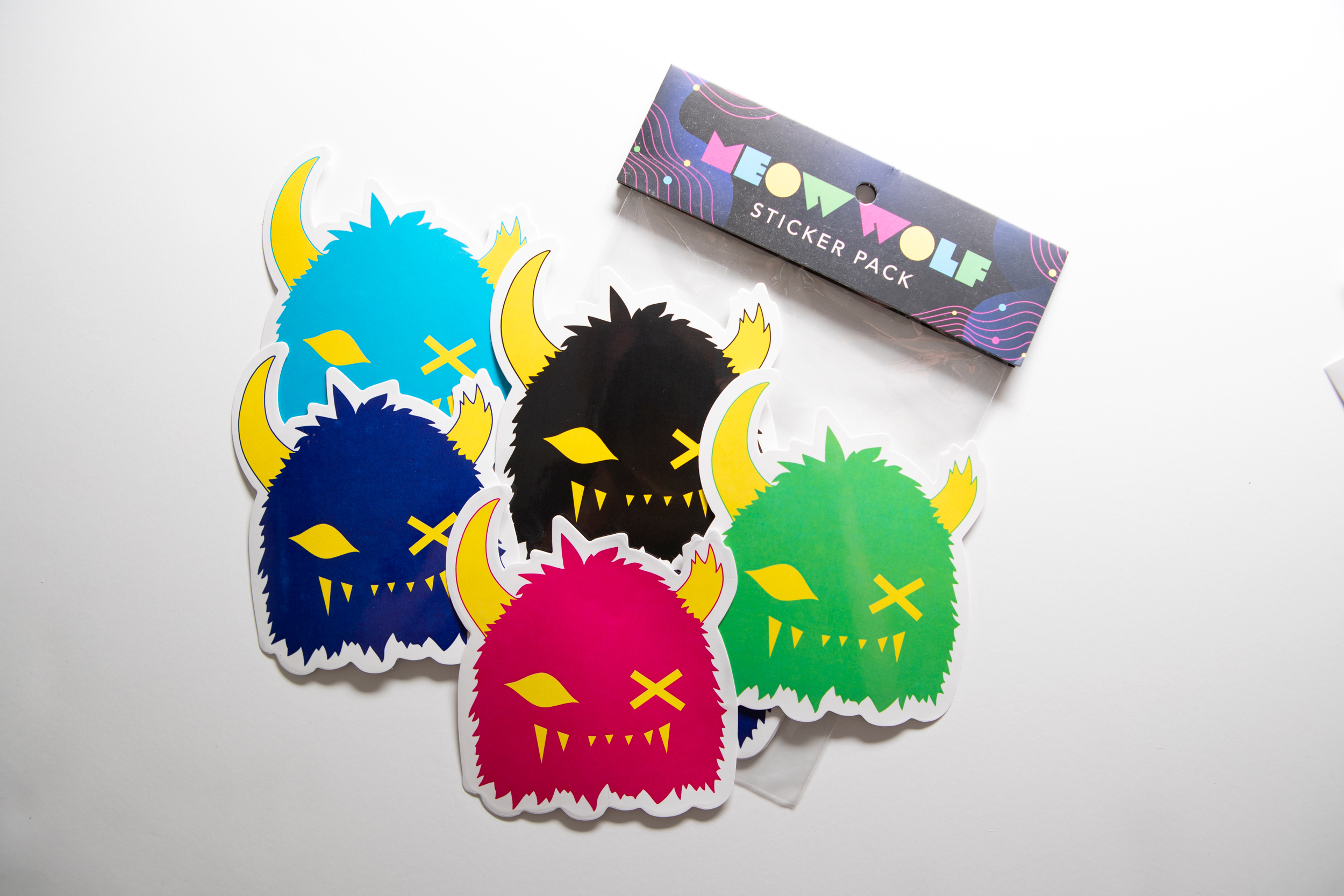 Meow Wolf Sticker packs