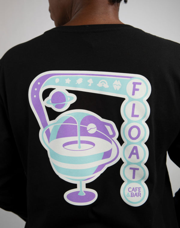 Float Black Long Sleeve Shirt