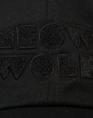 Meow Wolf Black Logo Dad Hat