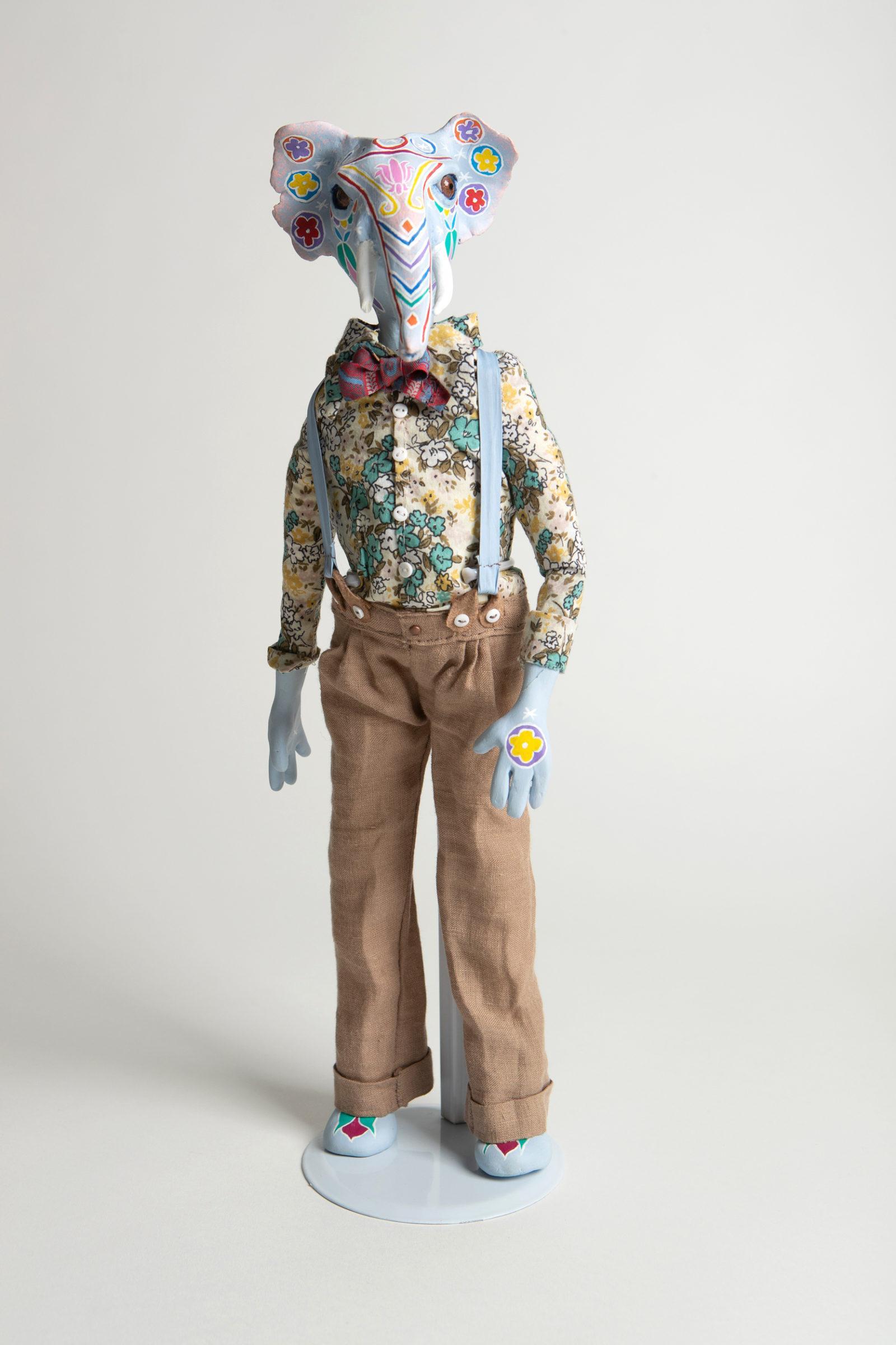 Sarah Bradley's animal sculptures