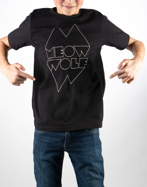 Snaggy Youth T-Shirt - Meow Wolf