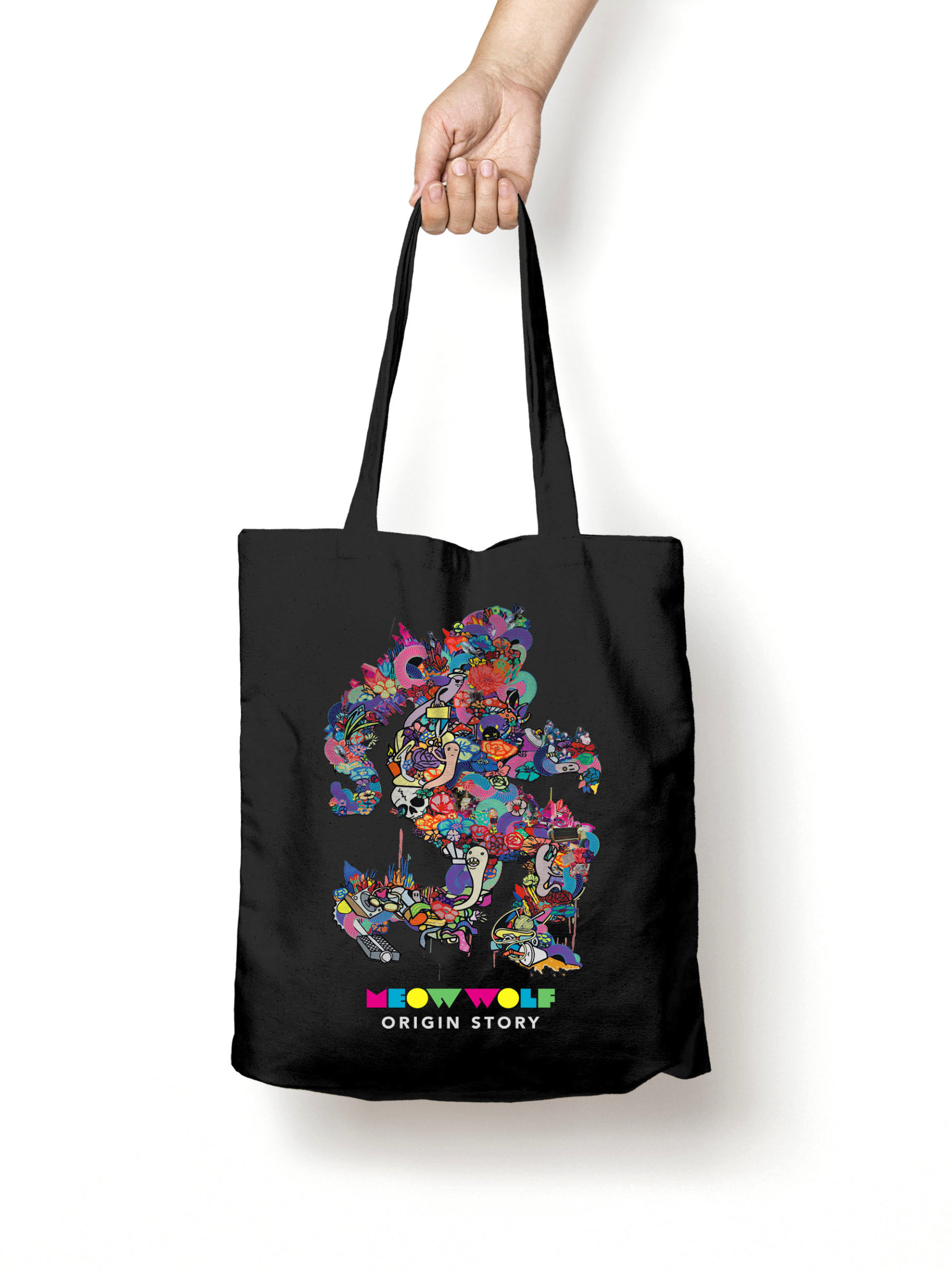 Origin Story Tote Bag MockUp