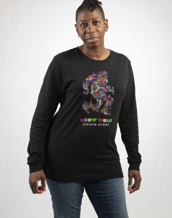 Origin Story Long Sleeve T-Shirt - Meow Wolf
