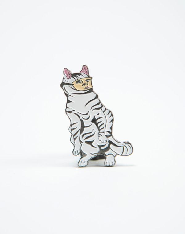 Oracle Cat Pin
