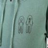 Legit Concerns Poodle Hoodie Mint Green