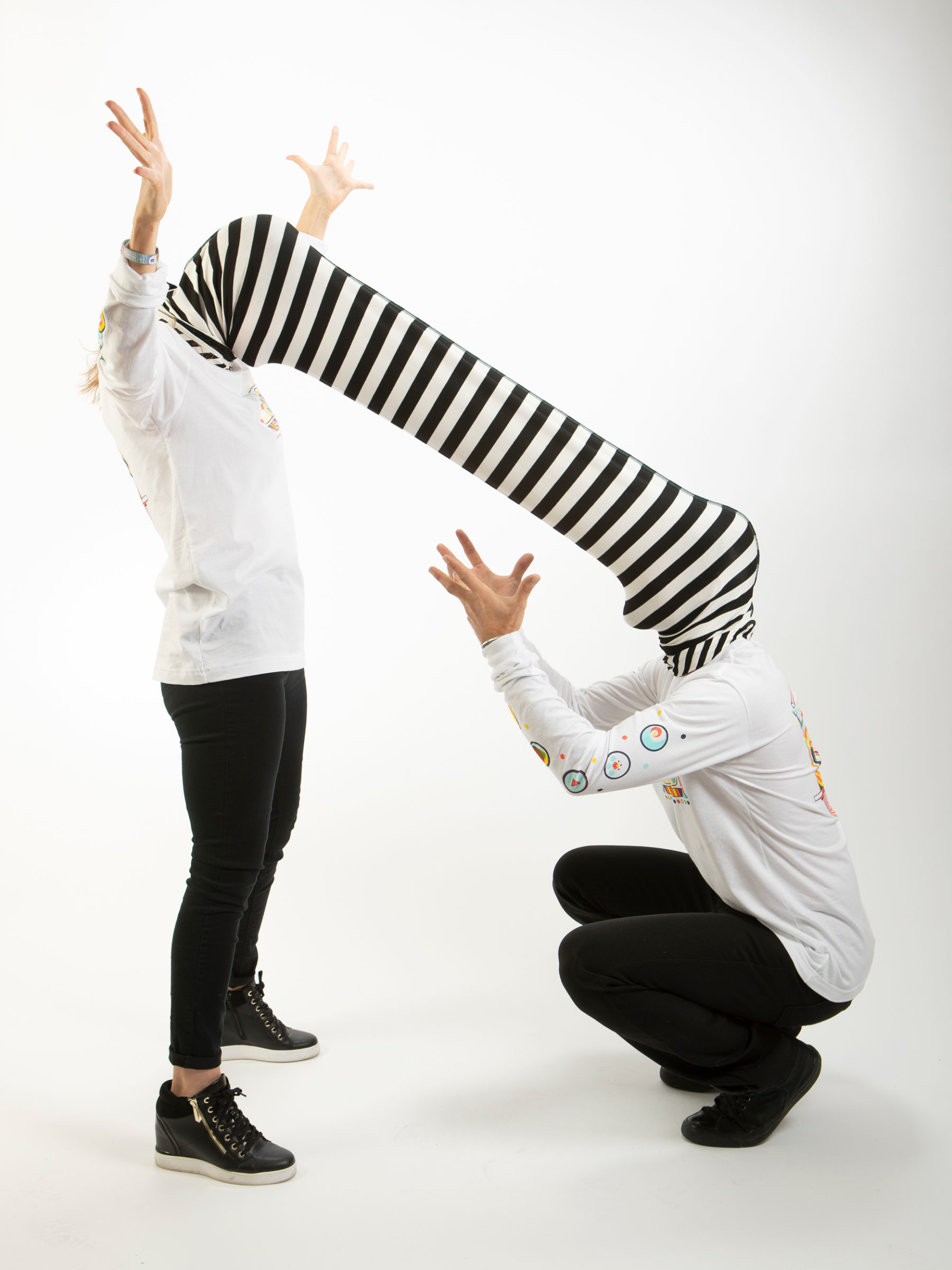 The Experience Tube long sleeve t shirts.