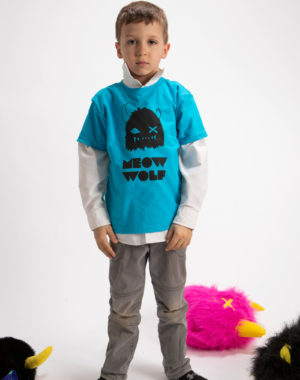 Meow Wolf Snaggy Kids Shirt (2 colors)