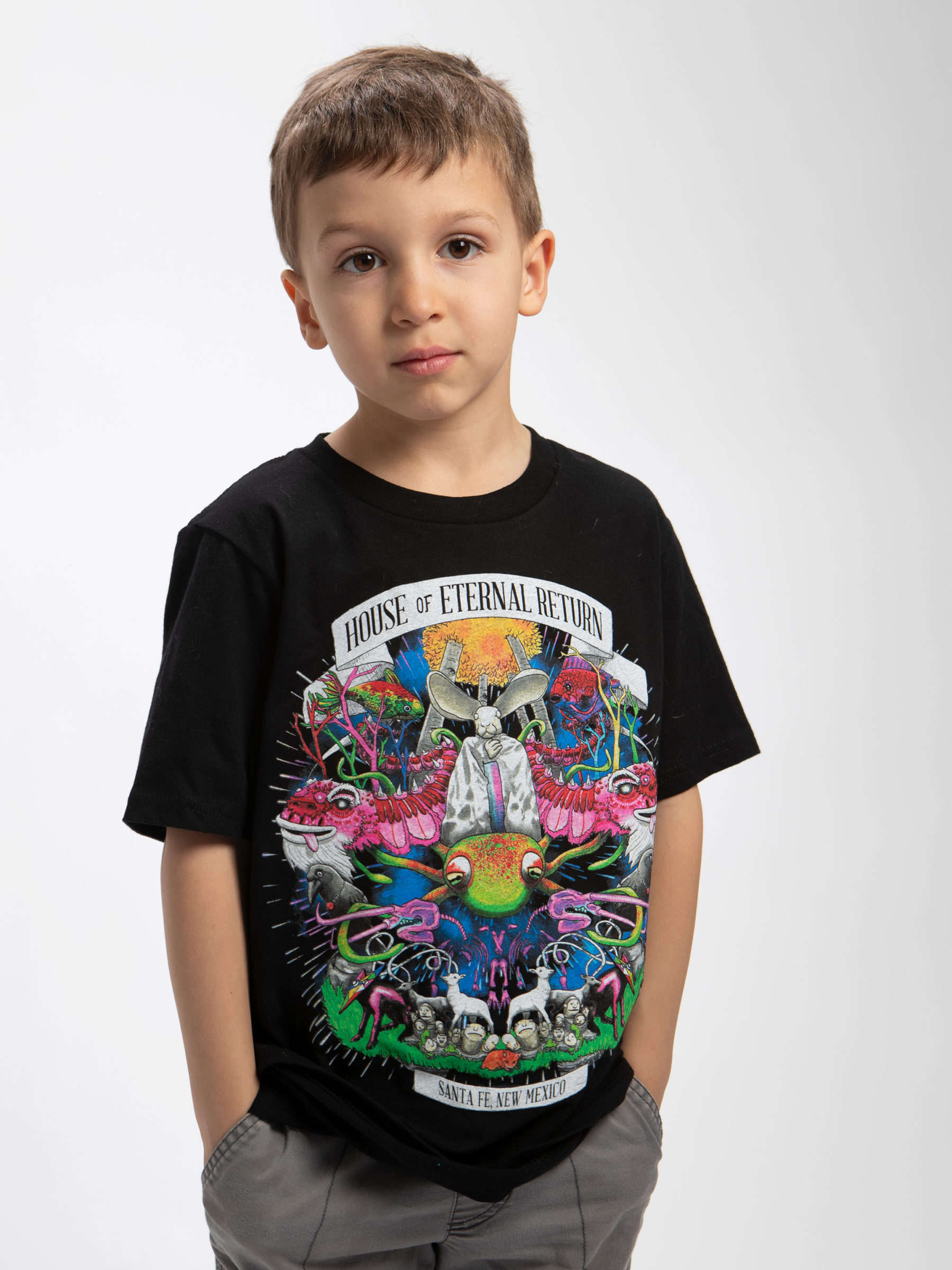 The Meow Wolf Creature t shirt
