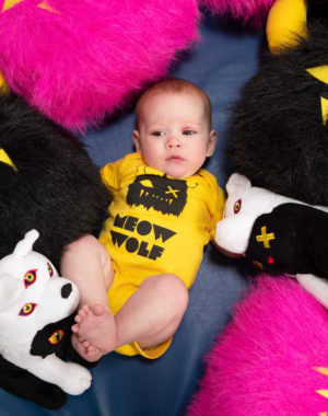 Meow Wolf Baby Bodysuit (2 colors)