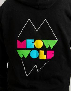 Meow Wolf Logo Zip Hoodie