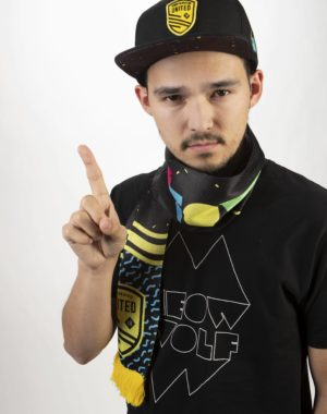 New Mexico United and Meow Wolf merchandise