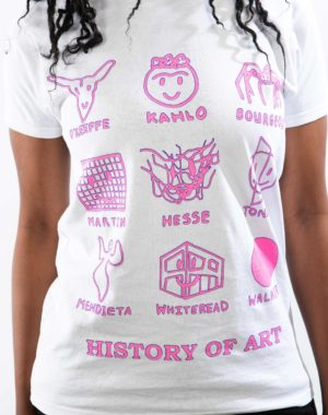 History of Art T-Shirt by Charlotte Thurman