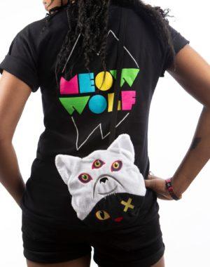 Meow Wolf Crossbody Shoulder Bag