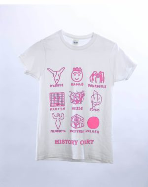 History of Art T-Shirt - Pink - Charlotte Thurman