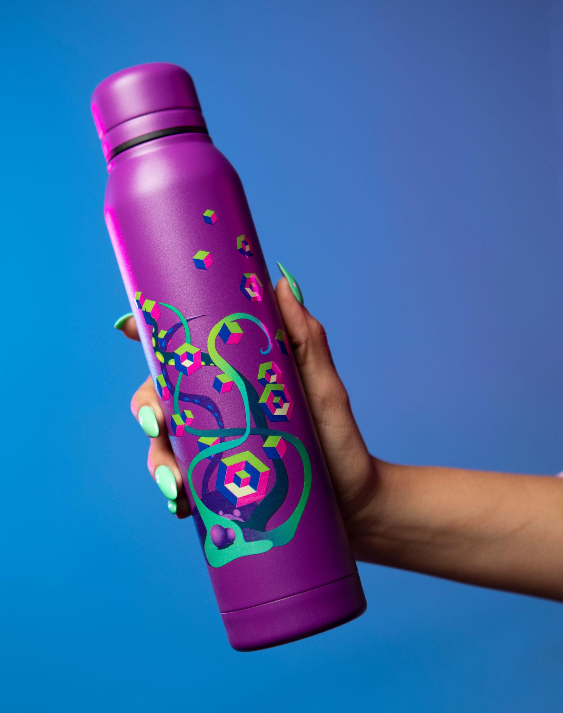 KLS_Water_Bottle_Purple_Meow_Wolf_2