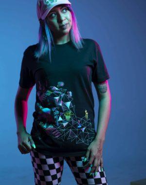 Off Center T-Shirt Kaleidoscape