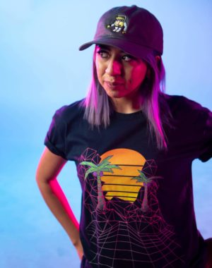 KLS Sunset Grid Tshirt