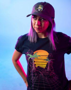 KLS Sunset Grid Tshirt