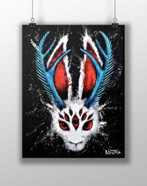 Max_Neutra_Print_Jackalopanoptes_Nine_Eyes_Meow_Wolf