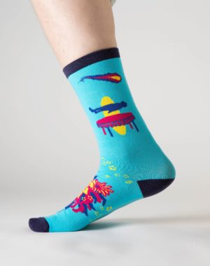 Lost_Sock_Blue_Wallpaper_Meow_Wolf_3
