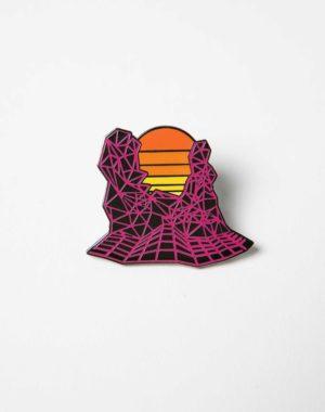 Kaleidoscape Gridscape Pin