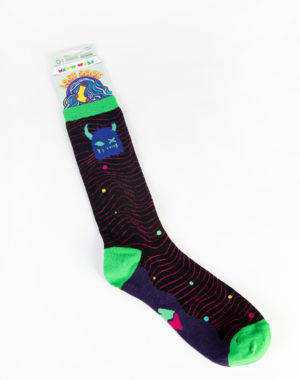 Meow Wolf Lost Socks - Snaggy Blue/Green