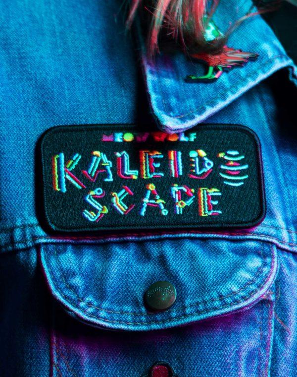 Kaleidoscape Logo Patch