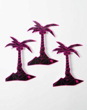 Kaleidoscape Palm Tree Sticker