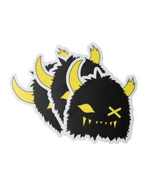 Snaggy_Sticker_Multi_Black_Meow_Wolf