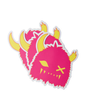 Snaggy_Sticker_Multi_Pink_Meow_Wolf