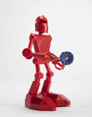 Robot Figurine Toy