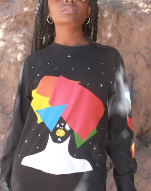 Multifaceted Long Sleeve T-Shirt - Obsidiopolis
