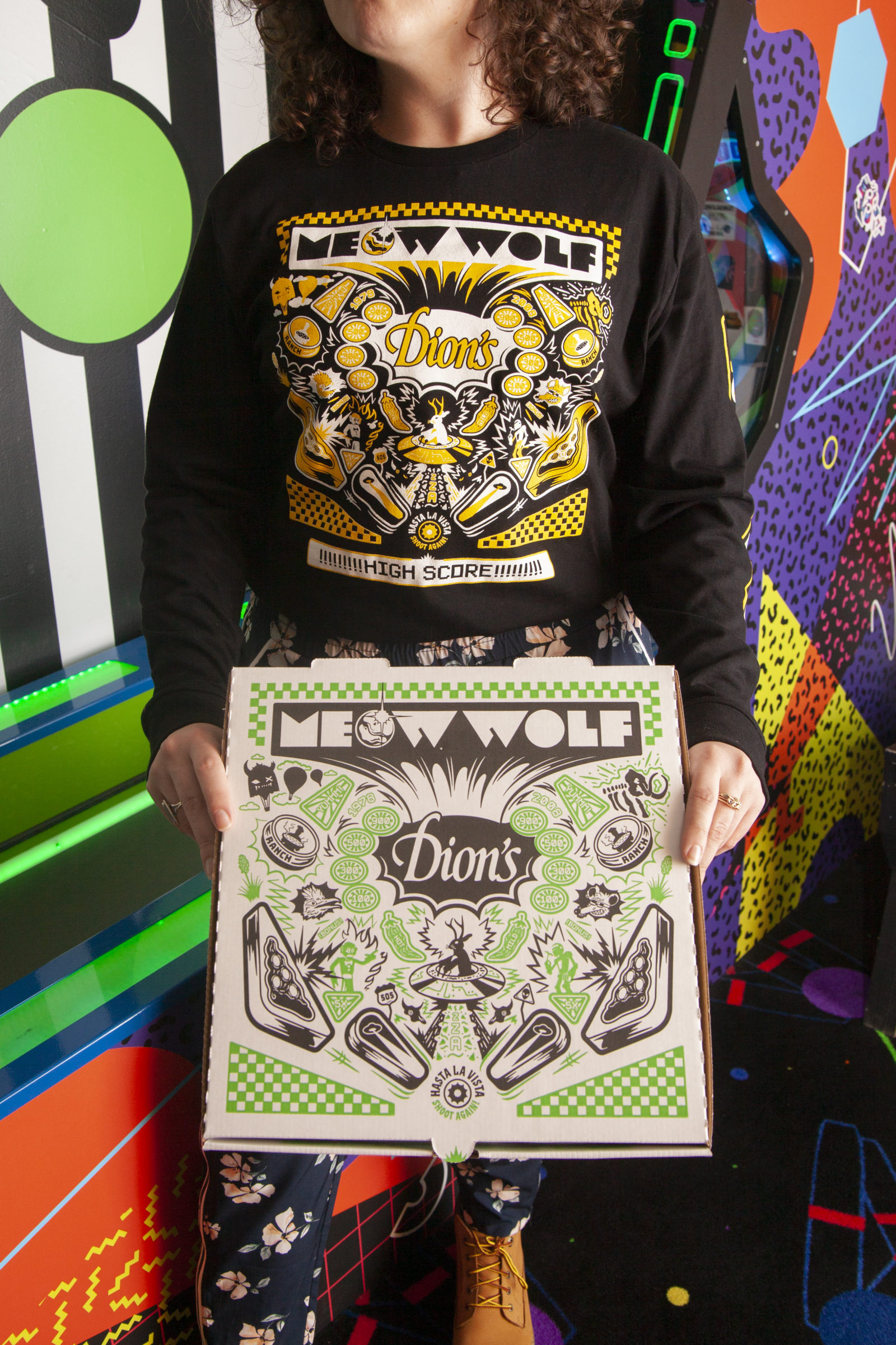 Meow Wolf Dion's Long Sleeve T-Shirt