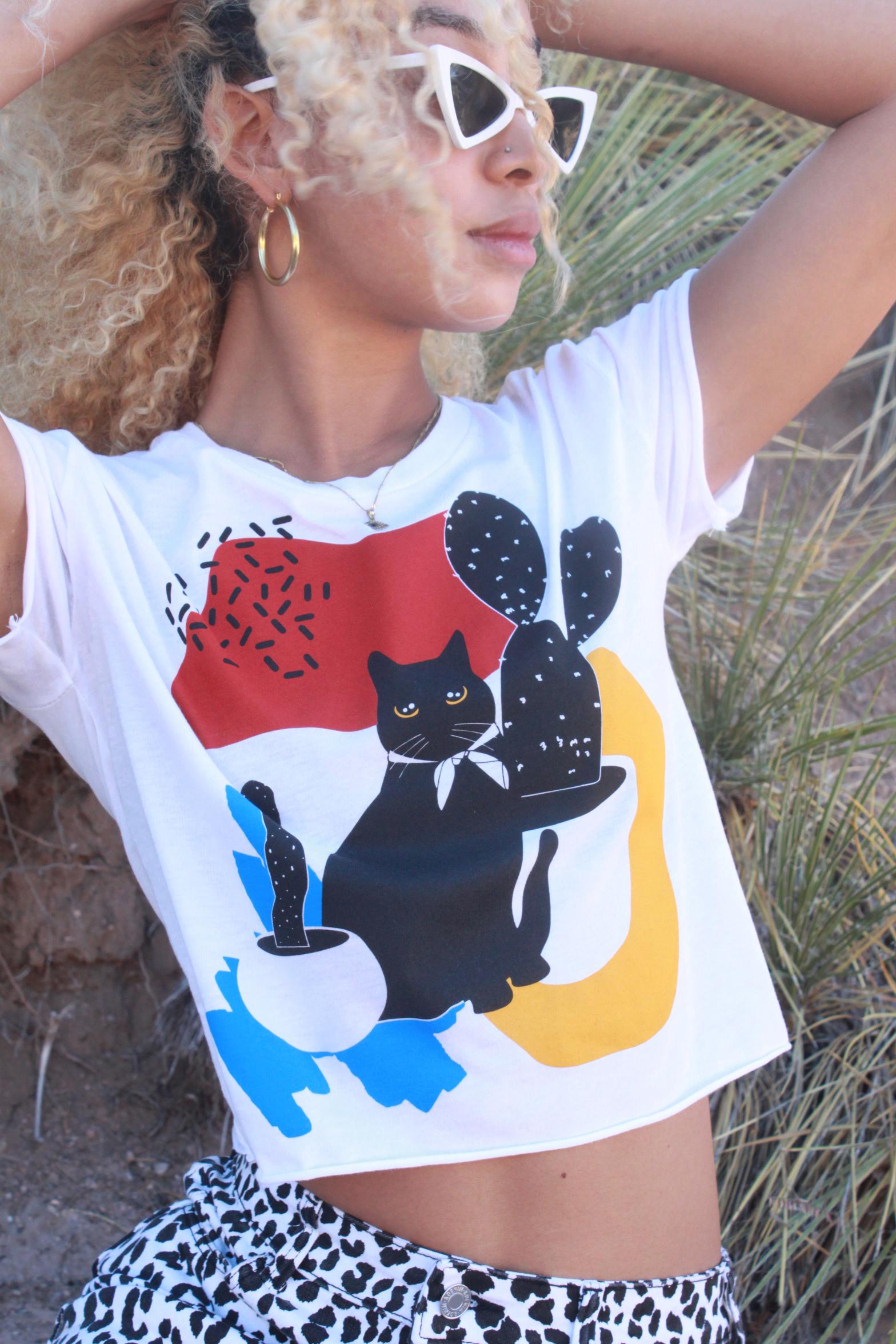Cat-Us Crop Top – Obsidiopolis