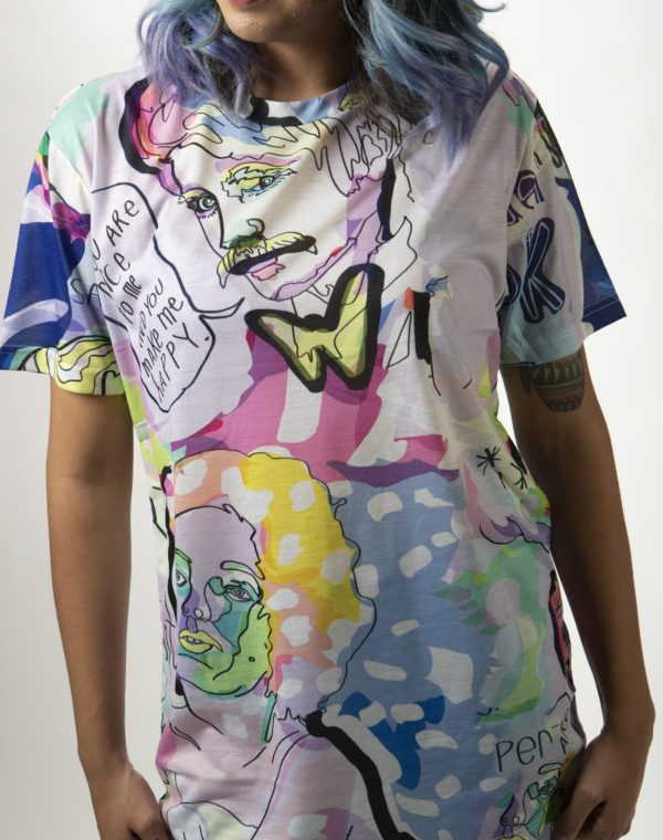 Tender Look at Love T-Shirt - Legit Concerns - Meow Wolf