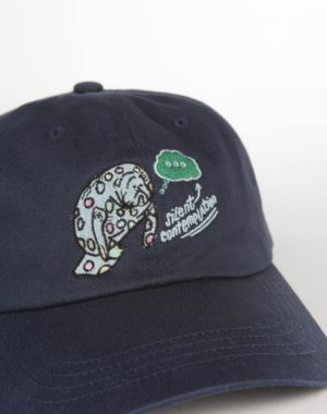 Silent Contemplation Dad Hat - Legit Concerns - Meow Wolf