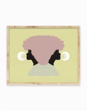 Obsidiopolis Bubble Poster Print - Meow Wolf