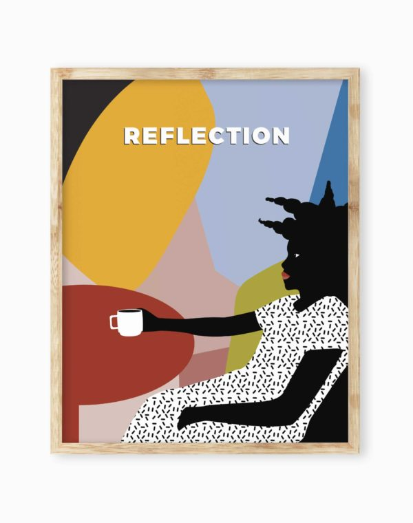 Obsidiopolis Reflection Poster Print - Meow Wolf