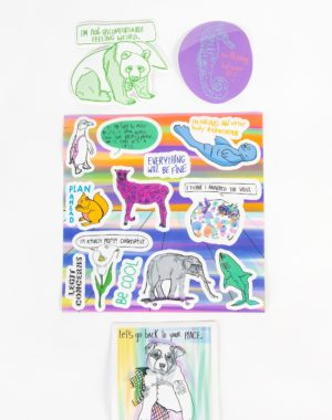 Legit Concerns - Sticker Pack - Meow Wolf