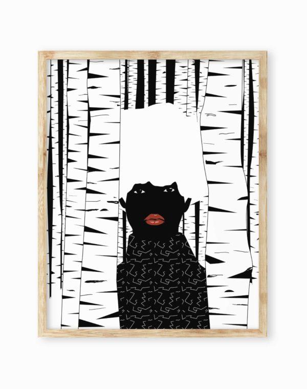 Obsidiopolis Aspens Print Poster - Meow Wolf